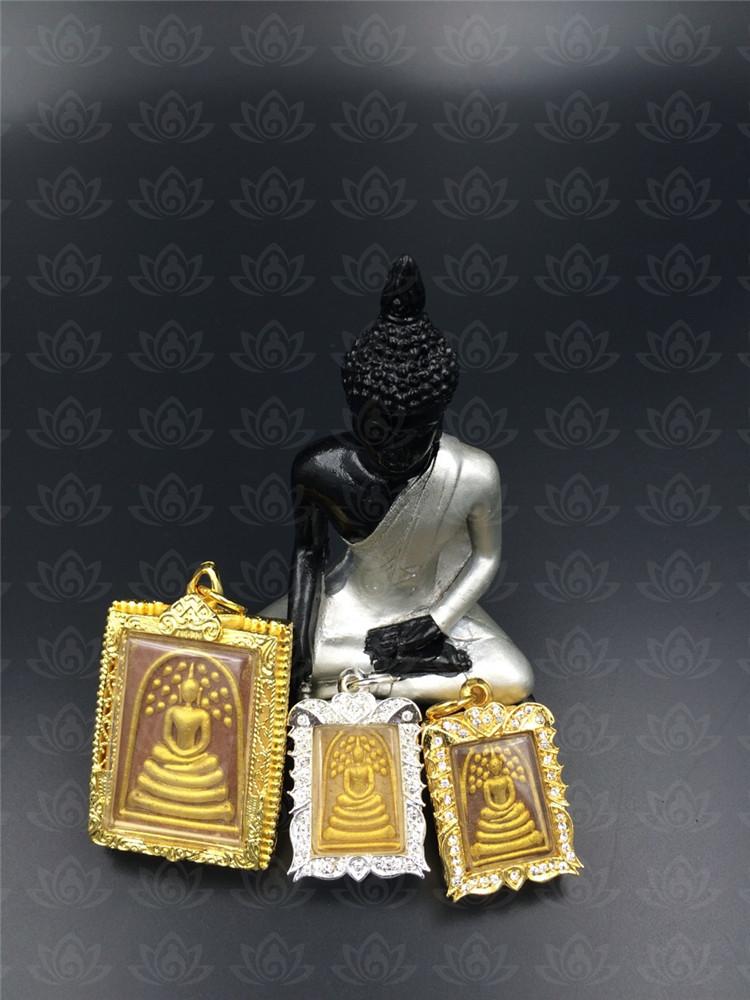 泰国佛牌真品 小模 中模 菩提叶崇笛 佛牌之王 龙婆飘
