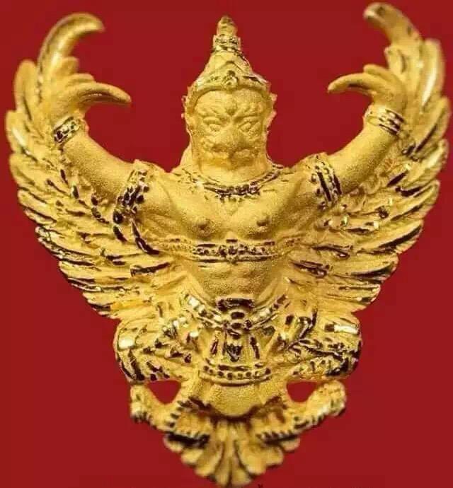 龙婆瓦拉2540纯金鹰神