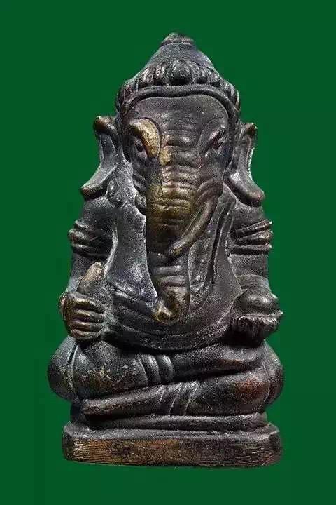 龙婆问 佛历2547年 古法铸造古法开光象神 限量做1000尊