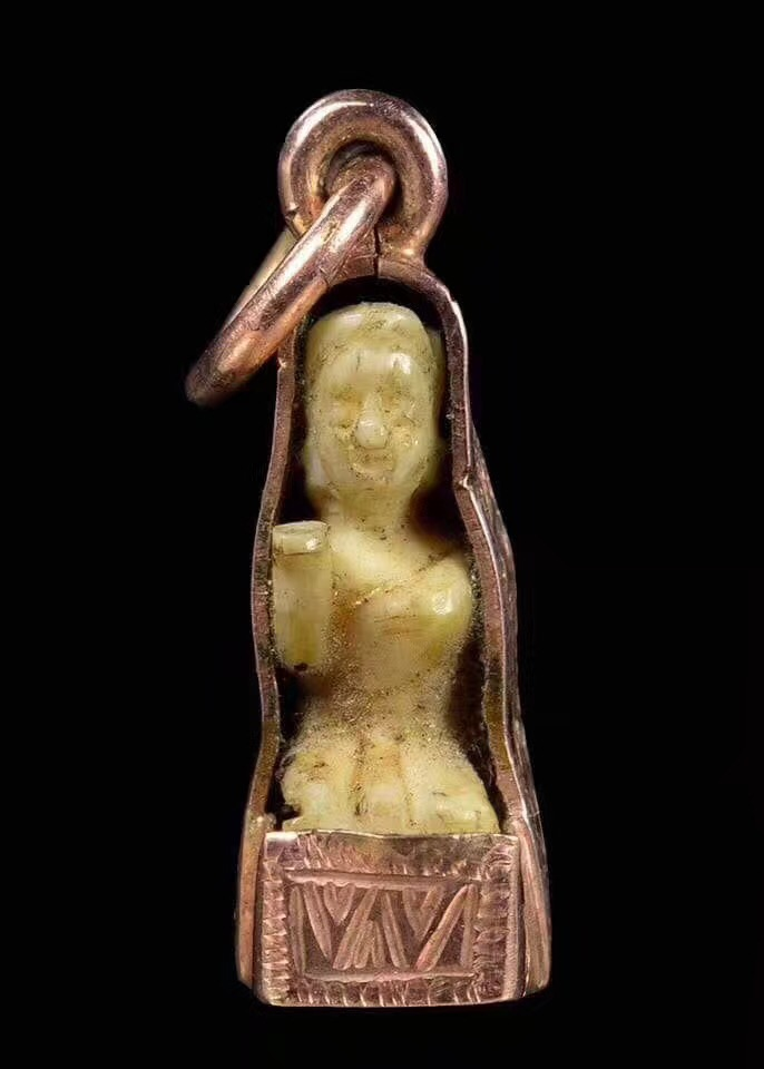 龙婆登 佛历2470年 招财女神