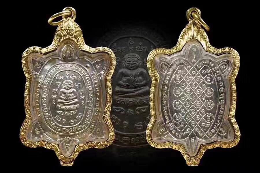 龙婆柳2536一期波尼纯银招财龟