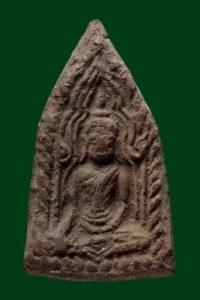 龙婆爹 2484年 亲制的第一期坤平座古曼童