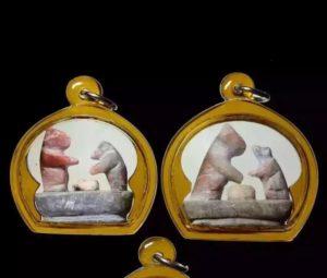 龙婆神尼 2500年督造 猫鼠一家