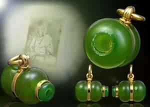 全泰九大圣僧之一龙婆术一期招财葫芦 浅绿色