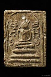 龙婆通2436年百年经典菩提叶崇迪佛