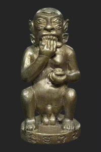 古巴博洋第一期五眼四耳 九宝铜材质