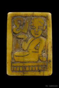 龙婆登瓦农坡佛历2470年珍贵动物牙雕招财女神