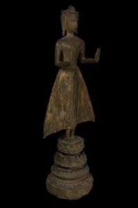 古老神秘之地阿育塔亚出塔古佛祖供奉