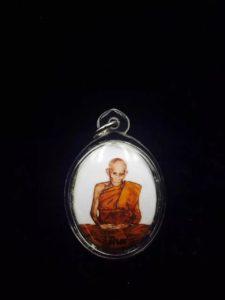 【祈福高僧 龙婆碧纳 】于佛历2549年发行的陶瓷版locket一期自身