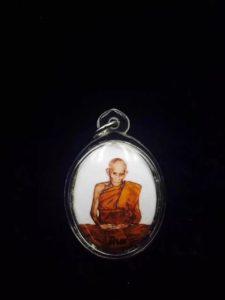 龙婆碧纳佛历2549年发行的陶瓷版locket一期自身