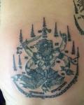 哈鲁曼天神的纹身图案意义