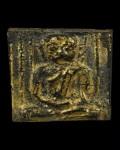泰国十九世末拉达那哥欣铜鎏金古老佛像
