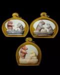 龙婆神尼 2500年督造 五彩神玉雕刻