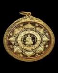 瓦马哈塔寺2550阿赞坤潘持刀自身的背面泽度金 纯金版
